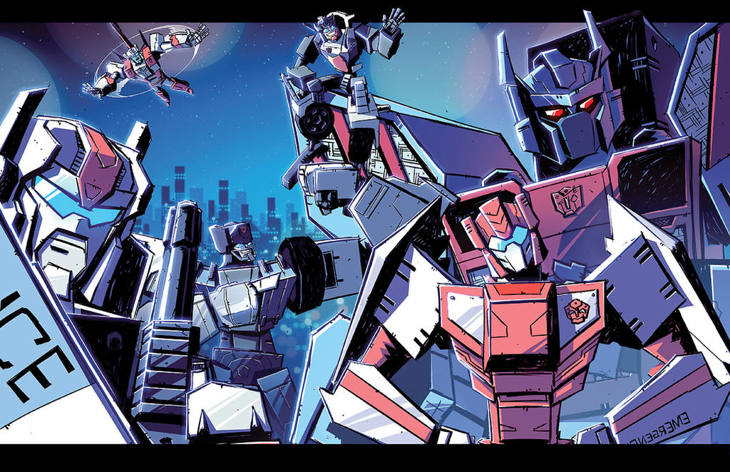 Combiner Wars Protectobots by dcjosh