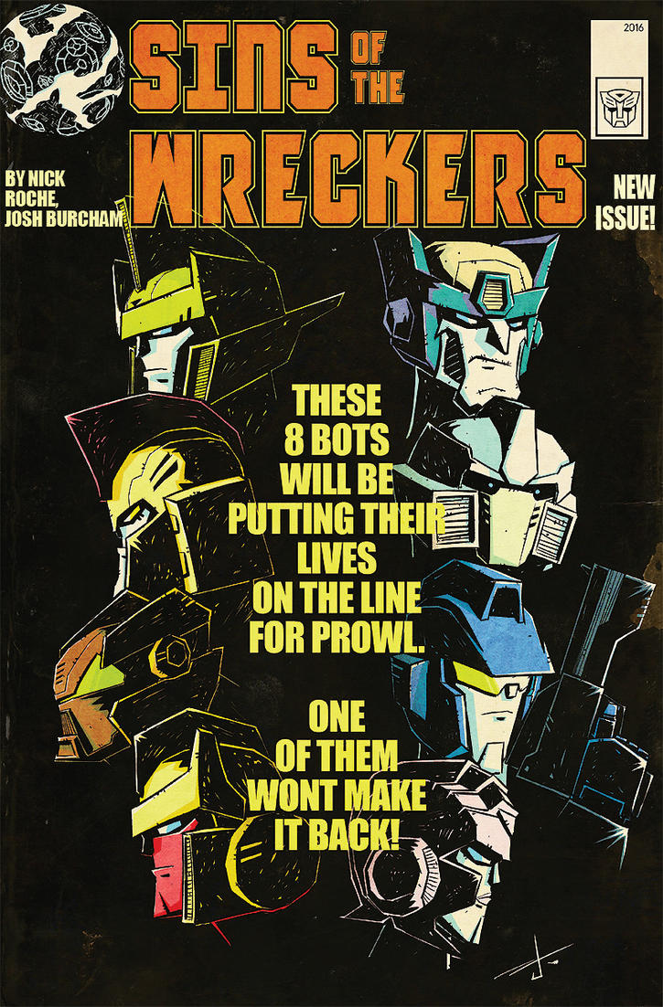 Sins of the Wreckers commission by dcjosh