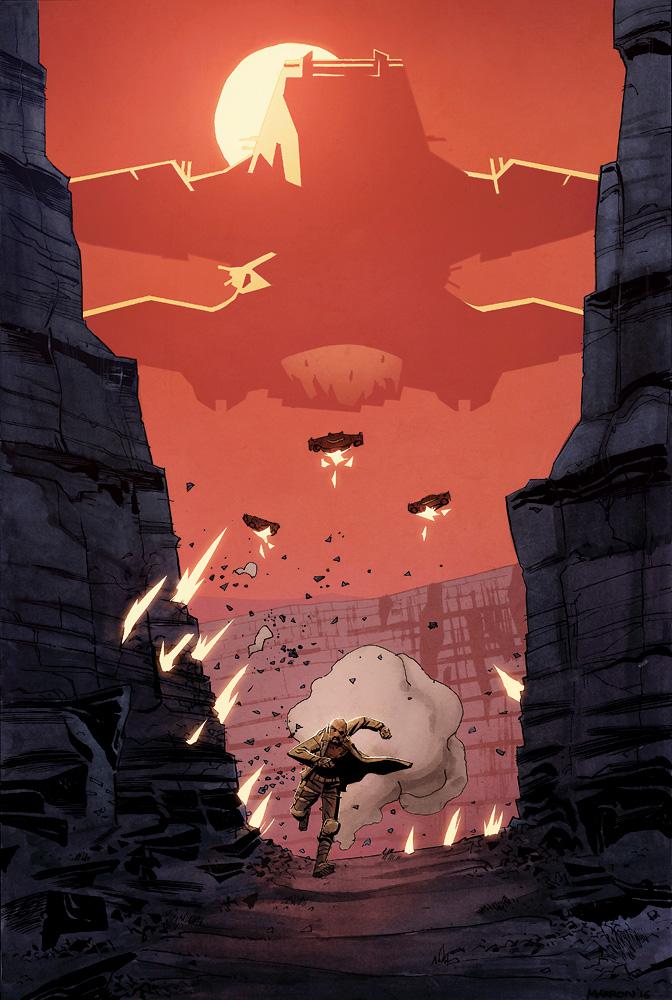Nick Fury by dcjosh