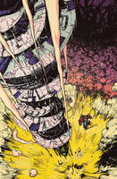Optimus Prime #2 cover by dcjosh