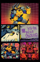 Optimus Prime #1 page 1 sneak peek by dcjosh