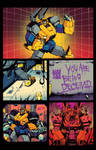 Optimus Prime #1 page 1 sneak peek