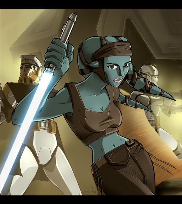 General Aayla Secura by dcjosh