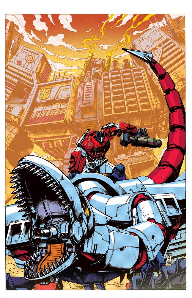 Optimus Prime 6 cover