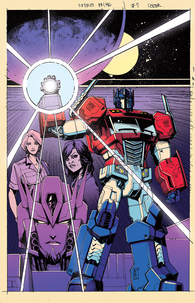 Optimus Prime 7 cover by dcjosh