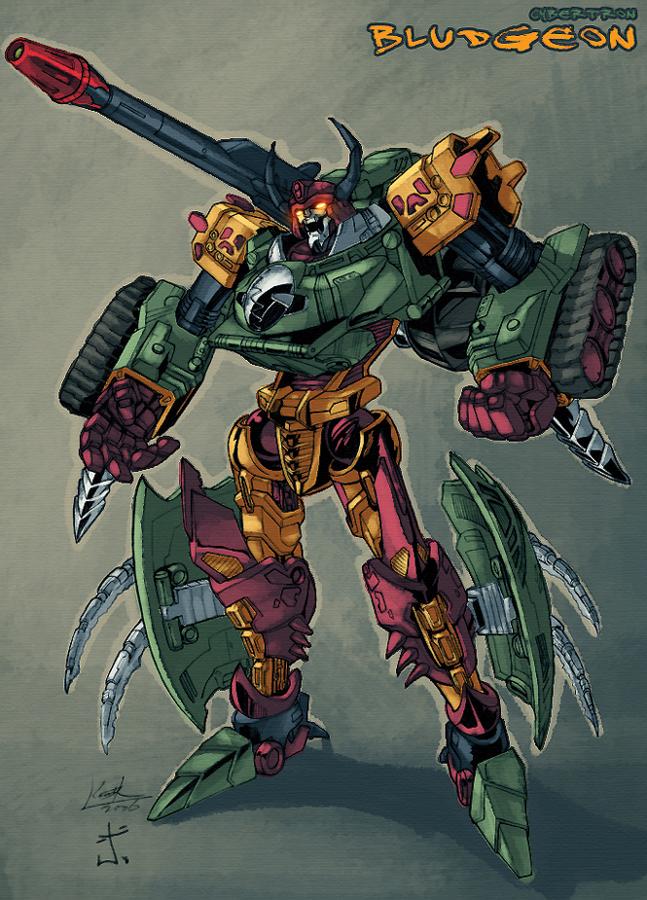 Cybertron Bludgeon