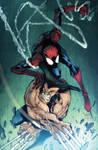 Gordototes Spidey VS Wolverine