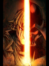 Quatros Anakin Vader colored by dcjosh