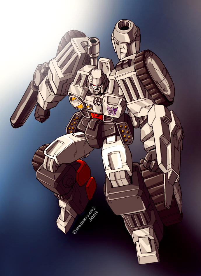 Makotrons War Within Megatron by dcjosh