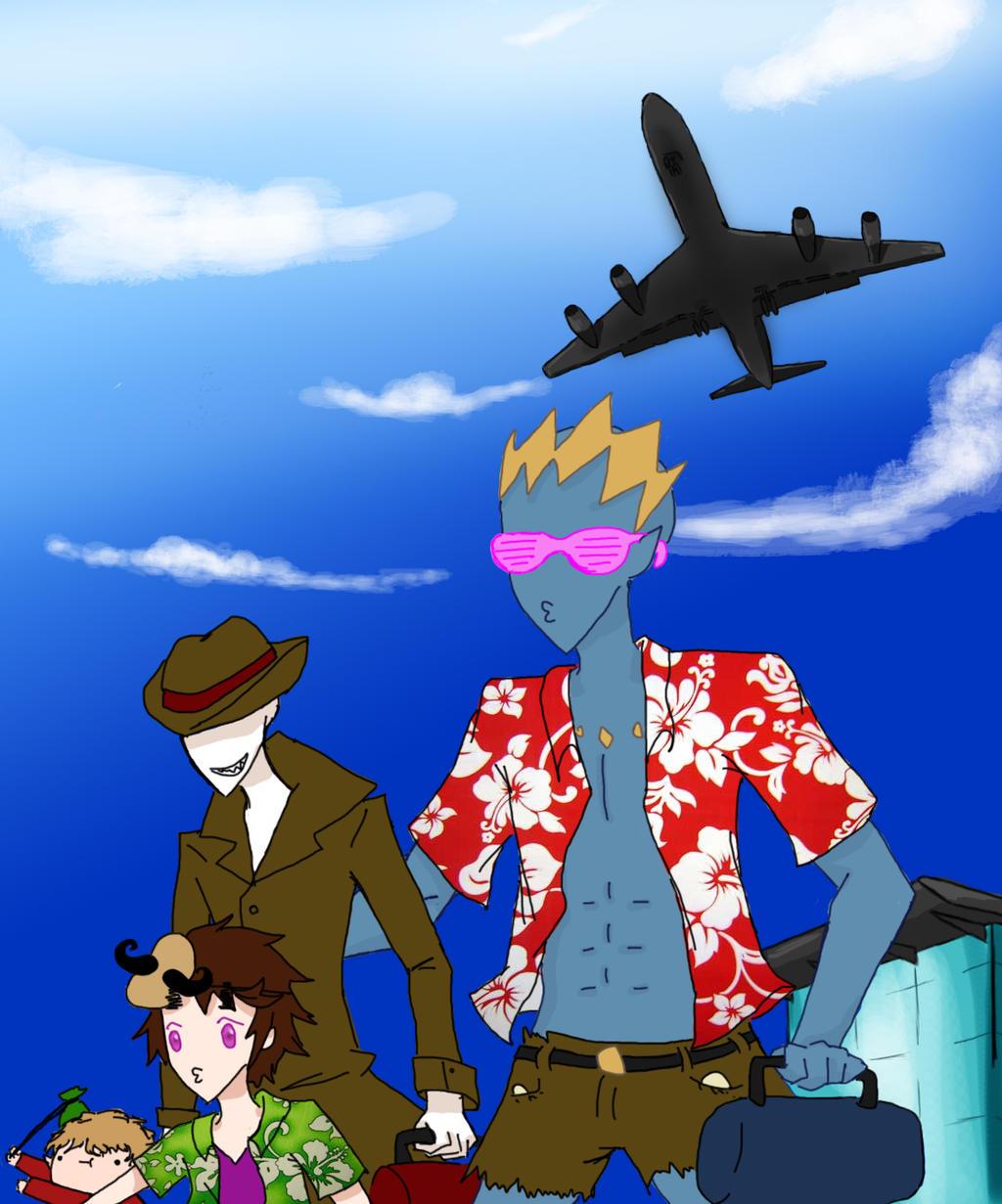 We're off to America by SeniorPotato on DeviantArt