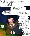 Let him get his food Thorin!