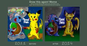 'Draw This Again!' Meme - Pleasant Dreams...
