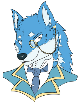 Wolf of Glimmering Moon [Commission]