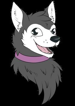 A Happy Husky [Commission]