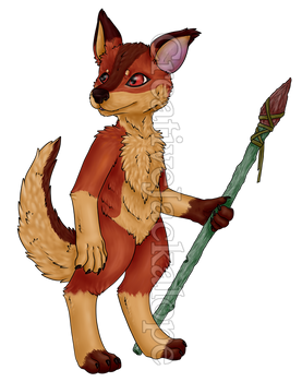 Little Warrior [Commission]