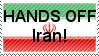Hands off Iran. by LaryssaTheSecond
