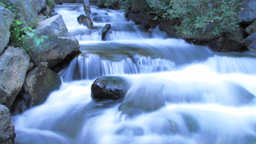 Long exposure waterfall by richard young on deviantart