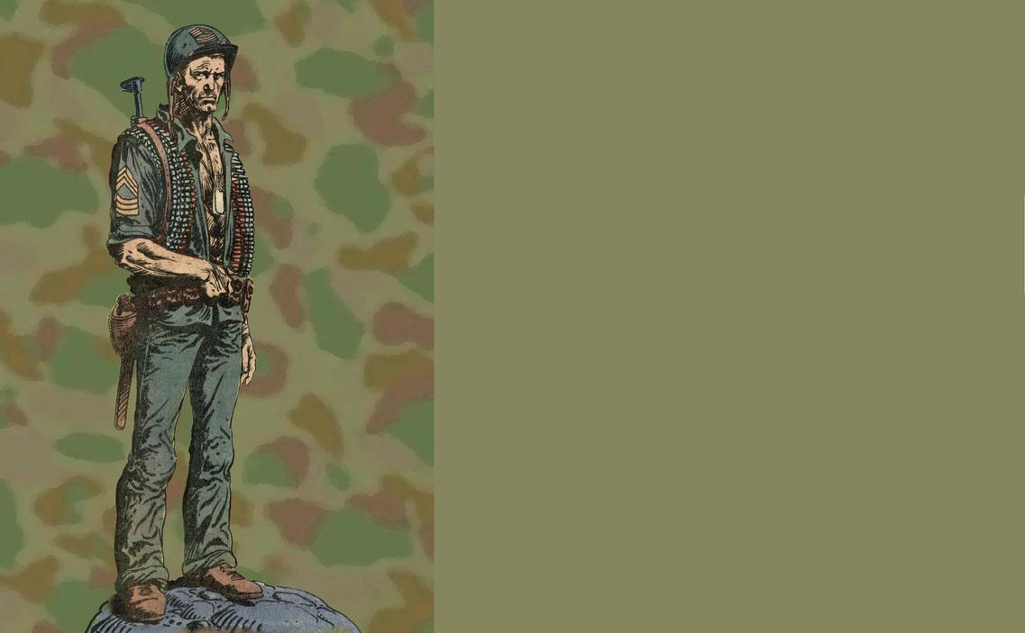 Homage to Joe Kubert by RSF24