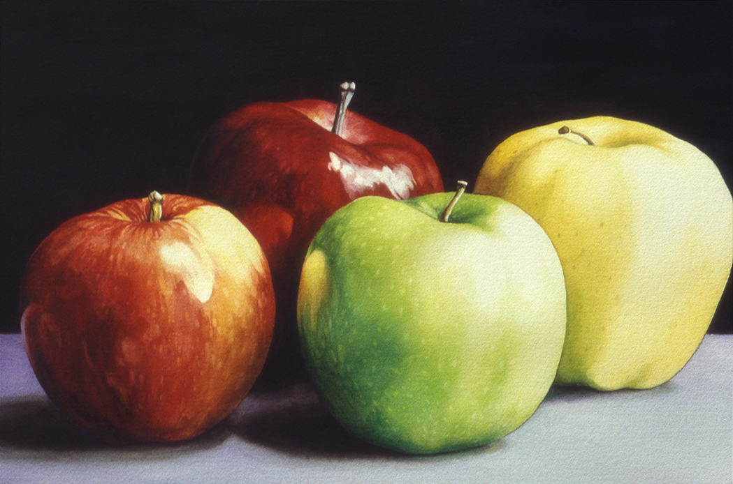 4 apples by rsf24 on deviantart