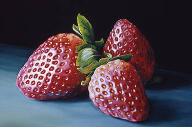 3 Strawberries by RSF24