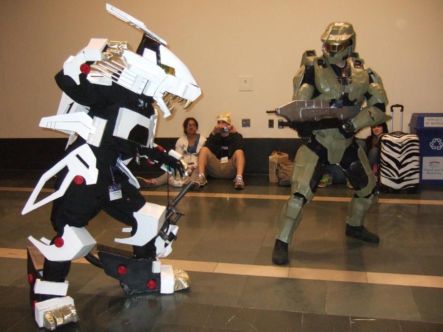 Zoid vs Halo by ShadowRyuu