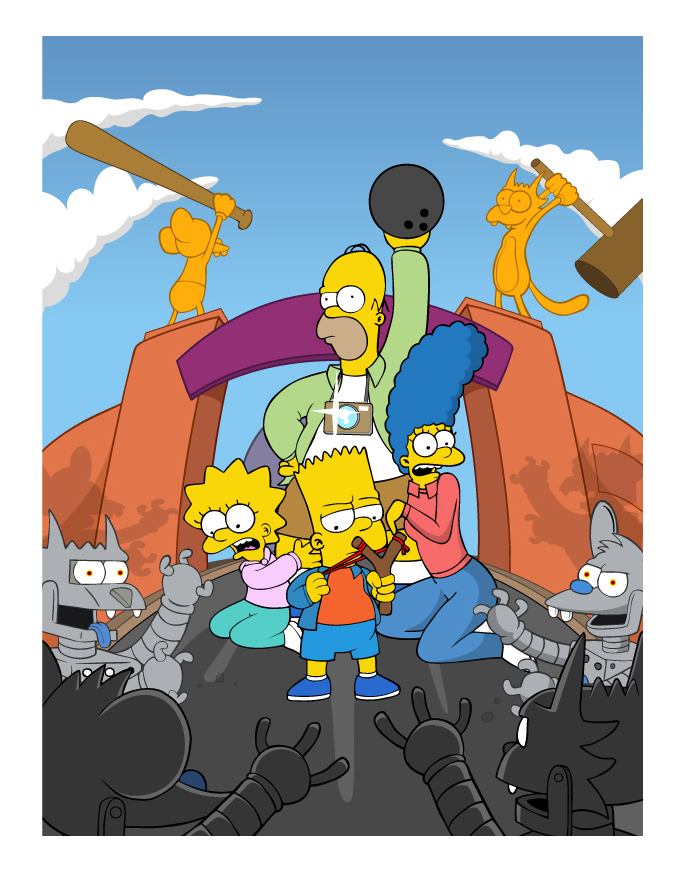 The Simpsons by Shaunboy97