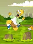 Homer's shenanigans
