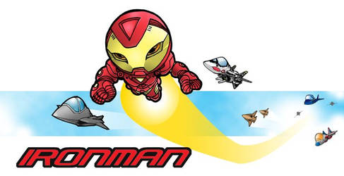Tiny Stark IRONMAN by the-tracer