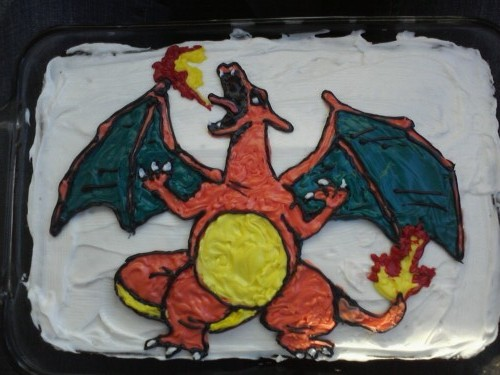Charizard Cake by Kikyo5622
