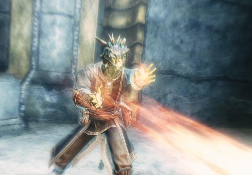 skyrim how to get fireball