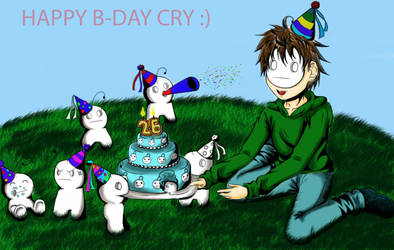 Cry B-day by ticesuke