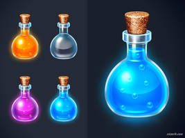 gummy potions? by bluepoly