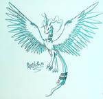 Reshiram Sketch
