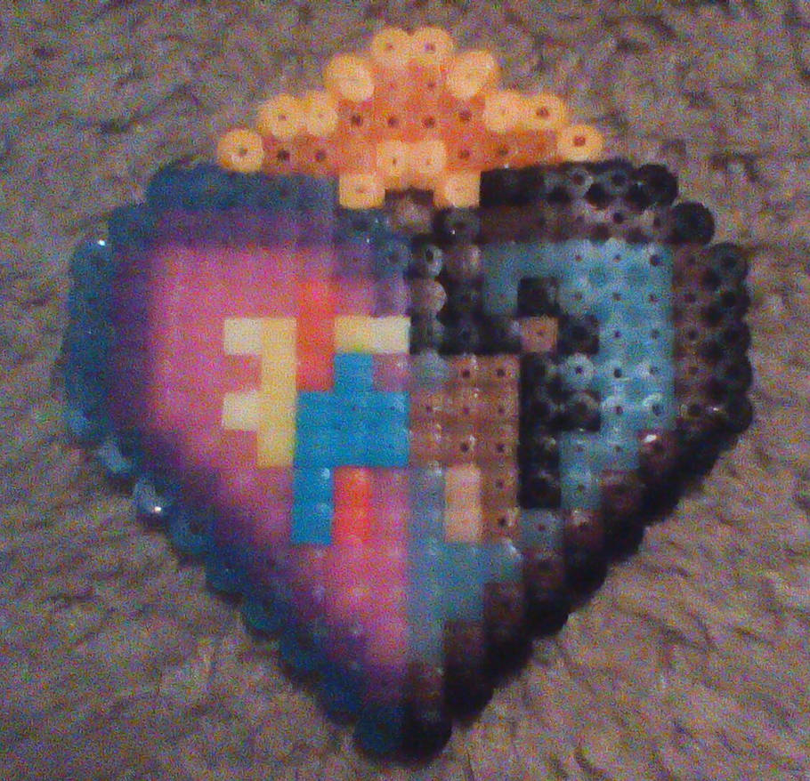 Bead Art Birthday Gift For My Boyfriend By DragonDrawer102