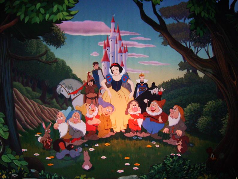 Snow white mural by fulvio84 on deviantart for Disneyland wall mural