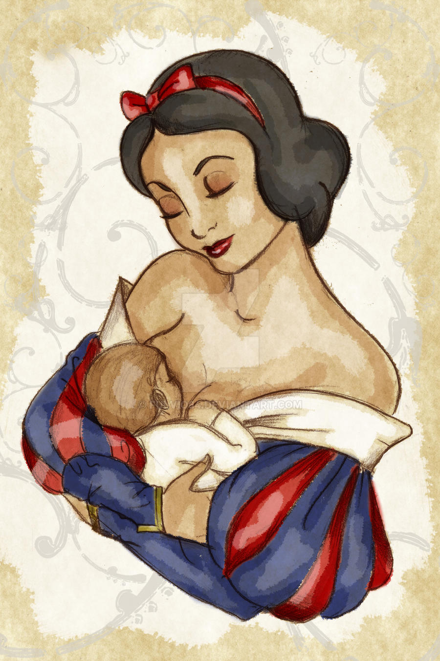 Motherhood - Snow White's Child
