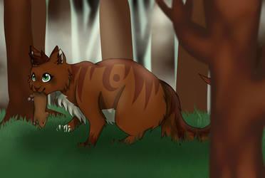 Squirrelflight [+SPEEDPAINT] by SpeckledSnowflake