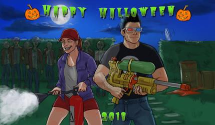 Happy Halloween 2018! WOO HA HA HA!