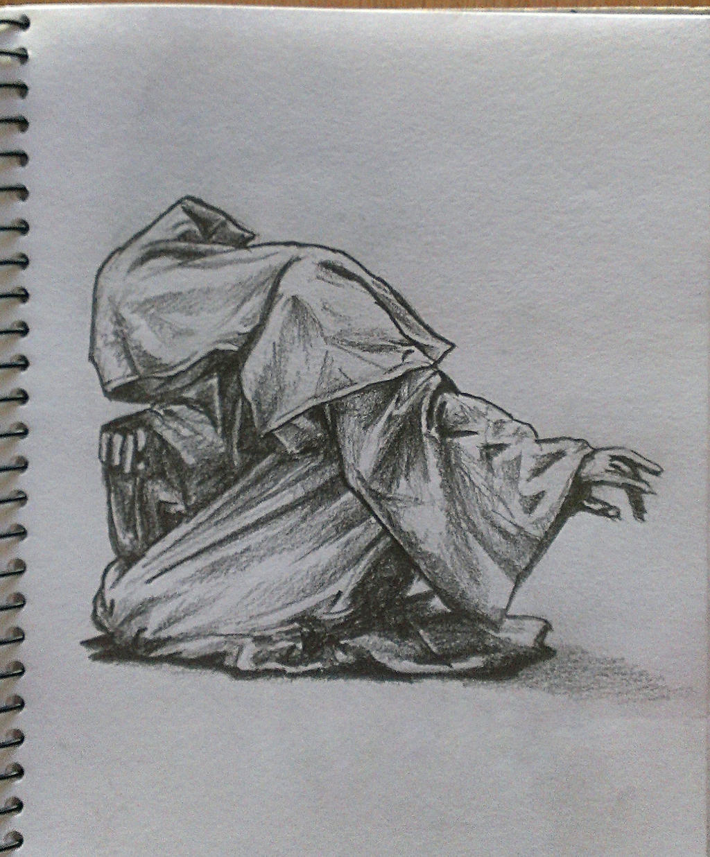 Hooded Figure By Goyab On DeviantArt