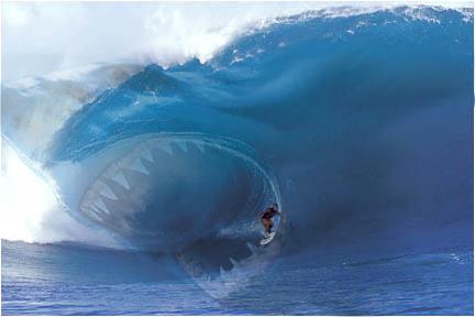 Shark Wave by xkristielee12x on DeviantArt