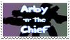 Arby 'n' the Chief Stamp by BeautifulButch