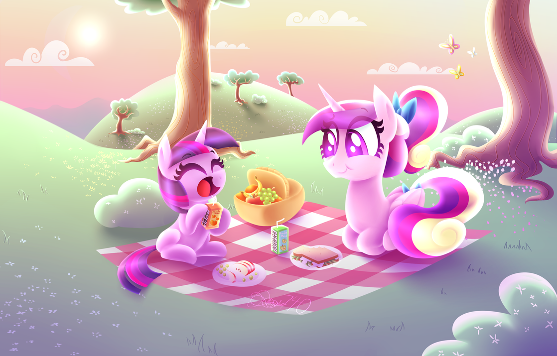 Picnic Day by siggie740