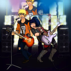 Rock The Night Away [Commission - vrockz]