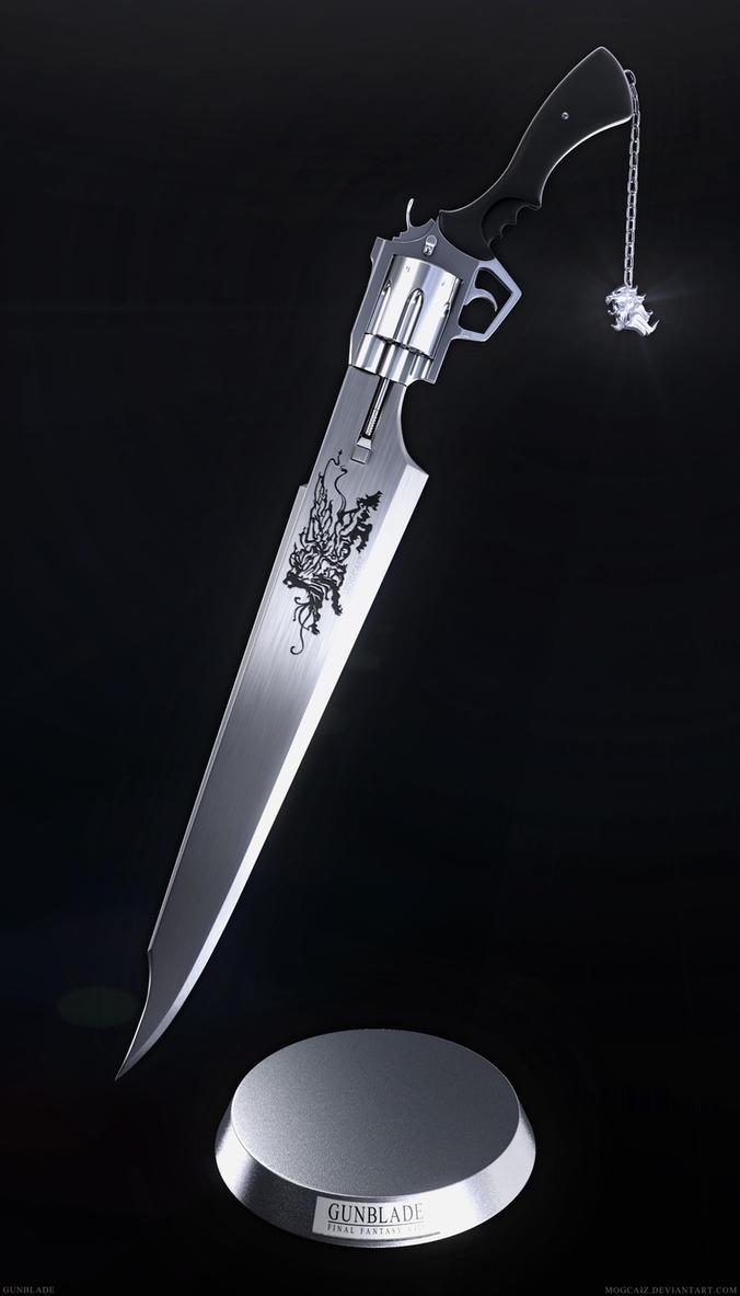 FFVIII Gunblade V2 - Hi-Res by mogcaiz