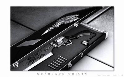FFVIII Gunblade - Origin by mogcaiz