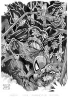 Spider In A Tree by AthenaTT