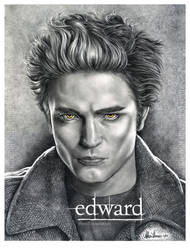 Robert Pattinson Edward Cullen by AthenaTT