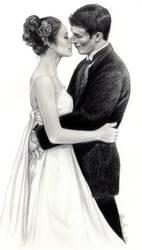 Fairytale Kiss Portrait