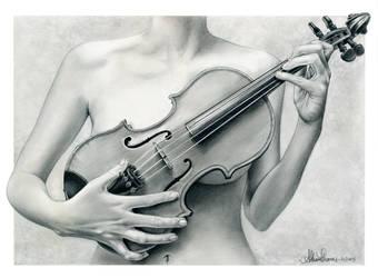 Violin by AthenaTT