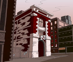 Ghostbusters Firehall HQ
